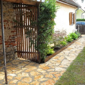 Gartenbau Projekt Eingang