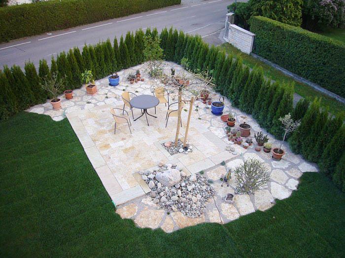 Alt neu gartenmanufaktur ragusa - Garten vorher nachher ...